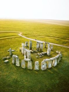 Stonehenge is a prehistoric monument in Wiltshire, England, about 2 miles west of Amesbury and 8 miles north of Salisbury. One of the most famous sites in the world, Stonehenge is the remains of a ring of standing stones set within earthworks Places Around The World, Oh The Places You'll Go, Places To Travel, Places To Visit, Around The Worlds, Travel Destinations, Ultimate Travel, Adventure Is Out There, World Heritage Sites