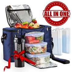Meal Prep Lunch Bag   Box For Men e5f47c41ad46a