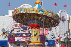 The Pleasure Pier in Galveston