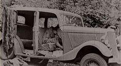The Real Bonnie and Clyde | Real+bonnie+and+clyde+car