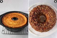 Pecan Pie Bundt Cake Recipe, Pecan Cookie Recipes, Box Cake Recipes, Homemade Cake Recipes, Apple Recipes, Dessert Recipes, Desserts, Mini Donut Maker Recipes, Coffee Cake