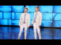 They're Ellen! Ellen and Kate McKinnon