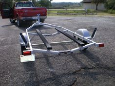 Picture of Make a Pair of Bunk Glides for Your Boat Trailer Jon Boat Trailer, Trailer Diy, Trailer Plans, Make A Boat, Build Your Own Boat, Diy Boat, Chris Craft Wooden Boats, Boating Tips, Boat Restoration
