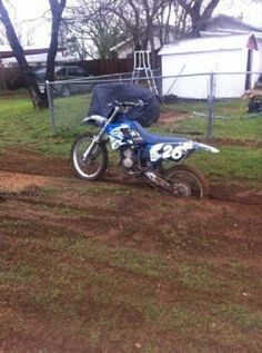 1997 Yamaha YZ125 Dirt Bike , Blue, 48 hours for sale in Eastland , TX
