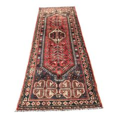 "Image of Vintage Persian Shiraz- 3'3"" x 9'9"""