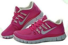 2013 Nike Free Womens Pink Colorful and comfortable sneakers for working out ❤ If I get to run track this year these are definitely the shoes I want! Pink nikes, pink nike free shoes for womens off at com Best Nike Running Shoes, Nike Sb Shoes, Nike Shoes Cheap, Nike Free Shoes, Sneakers Nike, Cheap Nike, Sports Shoes, Pink Sneakers, Basketball Shoes