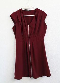 À vendre sur #vintedfrance ! http://www.vinted.fr/mode-femmes/robes-chics/49763114-robe-bordeaux