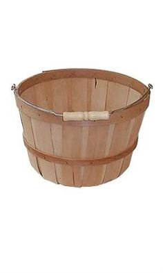 Keep an extra One Peck Baskets on hand in case you need to add to your peck basket display deep). Shop online today for savings! Wooden Basket, Wooden Rack, Wooden Shelves, Wood Display, Display Shelves, Peach Basket, Apple Baskets, Retail Shelving, Stainless Steel Rod