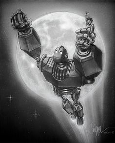 The Iron Giant my son loves this movie!