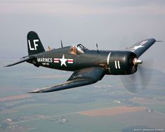 I love vintage aircraft from WWII. My favorite plane is the Corsair. F4u Corsair, Ww2 Aircraft, Fighter Aircraft, Military Aircraft, Fighter Jets, Air Fighter, Black Sheep Squadron, Image Avion, Old Planes