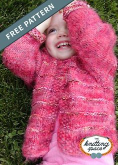 This Tigger knitted toddler cardigan is perfect for little girls or boys who won't stay still when you are trying to dress them. Baby Boy Knitting Patterns, Knitting For Kids, Knitting For Beginners, Baby Patterns, Free Knitting, Baby Knitting, Knit Patterns, Crochet Cardigan Pattern, Knitted Poncho