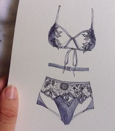 Beautiful illustration ❤️ @bullockellie sharing her drawing of our Lucia Set on Instagram. #myFLL