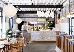 Matt Woods adds balancing bowls to Australian cafe