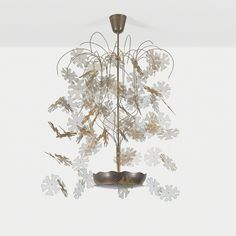 Paavo Tynell, Rare and Exceptional chandelier, c. 1950, Wright: Design Masterworks