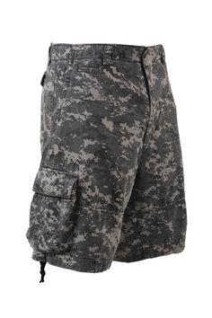 "Outdoor Bermuda Short /""Paratrooper/"" washed urban Army NEU"