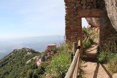 Montserrat, Zu Fuß, Berg, Spanien, Reisen, Catalonia, Barcelona