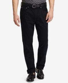 Polo Ralph Lauren Men's Prospect Slim-Straight Sateen Pants - Black 40x29