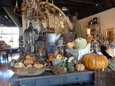An assortment of furnishings and home décor including antiques from the Freckled Frog in South Reno.