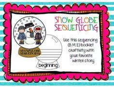 Having Snow Much Fun!: snow globe sequencing
