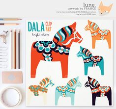 dala horses - Google Search