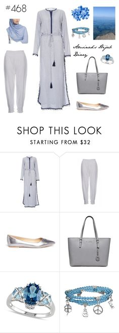 """#468 I have a dream"" by aminahs-hijab-diary ❤ liked on Polyvore featuring Sam Edelman, Allurez and Bling Jewelry"