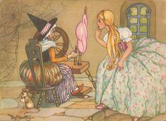 Faeries and Little Folk: Peg Maltby's Fairy Folk Fairy Paintings, Kids Story Books, Fairytale Art, Flower Fairies, Fairy Art, Maleficent, Conte, Faeries, Illustration Art