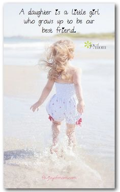 A daughter is a little girl who grows up to be our best friend.  <3 More beautiful daughter quotes on Joy of Mom! https://www.facebook.com/joyofmom <3 Image courtesy of Heidi Hope Photography: https://www.facebook.com/HeidiHopePhotographyFans <3 https://www.facebook.com/joyofmom  #daughters #momsanddaughters #family #joyofmom