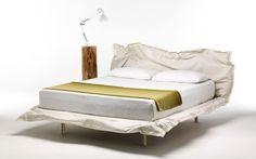 bawełniany zagłówek łóżka