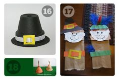 25 Preschool Thanksgiving Crafts – Check Out All the Ways to Make a Thanksgiving Turkey!