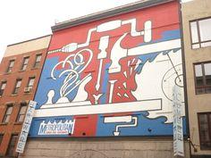Wall art in Lower East Side