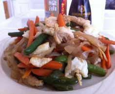 Healthy Asian Dish! Chow Mein!