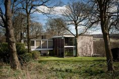 Farnley Hey is one of Britain's most celebrated post-war houses and was used for scenes in DCI Banks