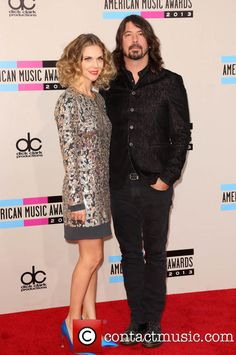 Dave Grohl and wife Jordyn Blum