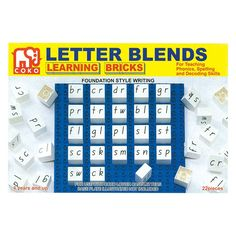 Coko Letter Blends Educational Bricks – Notes From a Home Educator