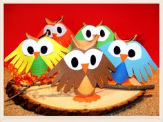 Kidfunideas.com Whoo's ready for autumn Owl craft for kids