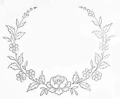 Wonderful Ribbon Embroidery Flowers by Hand Ideas. Enchanting Ribbon Embroidery Flowers by Hand Ideas. Embroidery Flowers Pattern, Simple Embroidery, Embroidery Monogram, Embroidery Transfers, Embroidery Patterns Free, Silk Ribbon Embroidery, Hand Embroidery Designs, Flower Patterns, Embroidery Stitches