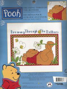 Cross Stitch Kit Winnie The Pooh