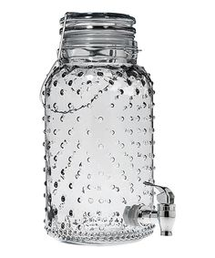 Look at this Bail Tree Embossed Beverage Dispenser on #zulily today!