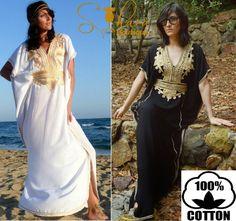 Moroccan Kaftan Caftan Dress Abaya Dubai Party by SaharaBoutique