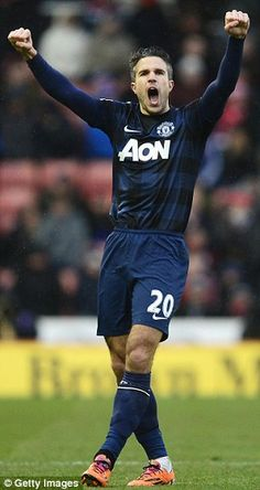 Robin van Persie looks set to follow Radamel Falcao out of Manchester United