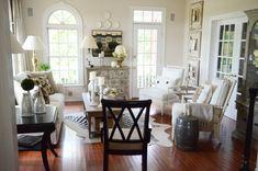 Thanksgiving Living Room-stonegableblog.com