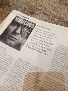 Kurt Cobain, Event Ticket, Polaroid Film, Books, Sad, Reading, Lyric Poetry, Libros, Book