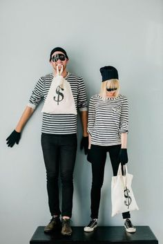 Bandits for DIY Halloween Costumes