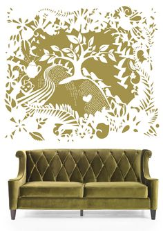 Mystic Forest Mystic, Love Seat, Couch, Wallpaper, Furniture, Home Decor, Settee, Decoration Home, Sofa