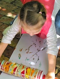 It's for kids, but I will likely be doing this soon.  Rolling pin art!