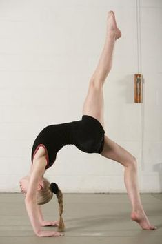 How to Do a Backbend Kickover for Beginners at Home   Chron.com