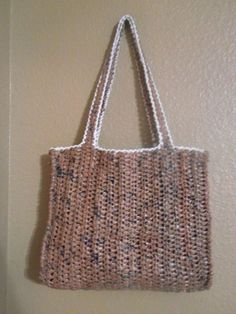 I actually love this bag! Made from plarn.