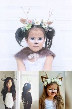 Los disfraces más TOP de carnaval para niños fáciles de hacer. La novedad 2017 son los de ciervo y unicornio o pequeño pony. Alucinantes!! ¿Cómo son? Entra!!