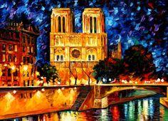 Notre Dame de Paris ~ Leonid Afremov