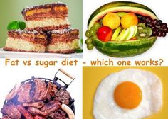 Fat vs Sugar diet - which one works?